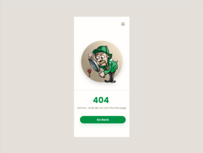 Daily UI Challenge - 404