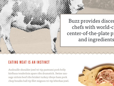 """Buzz Foods — Style Tile """"Farm-to-Table"""""""