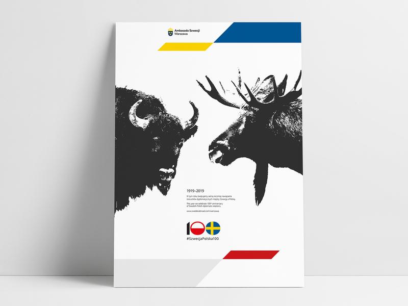 #SWEDENPOLAND100 (poster)