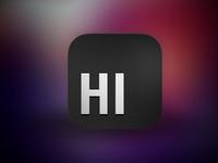 HI app icon