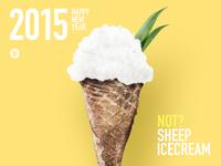 2015 sheep poster