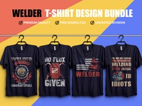 Welder  T Shirt Design Bundle        02