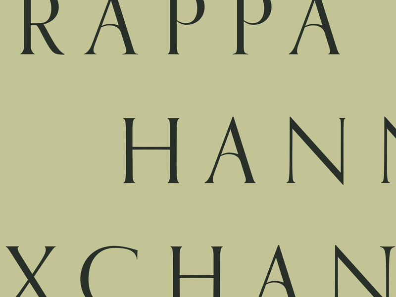 Rappahannock Exchange identity design and development