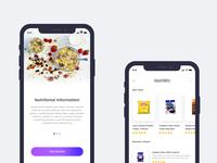 Nutrition iOS app