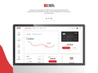 DBS bank dashboard redesign
