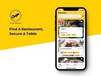 Chope: Real time restaurant-reservation booking app.