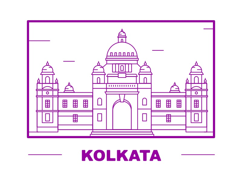 Line Drawing Of Queen Victoria : Victoria memorial kolkata by ramakrishna v dribbble
