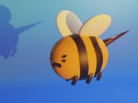 Angry bee - 3D Modelling clean photoshop character cartoon adventure time 3d character modeling 3d art 3dsmax 3ds maya 3d blendercycles c4d blender3dart blender