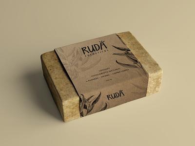 Rudá - Branding/Packaging modelling branding logo design art illustration branding concept branding and identity