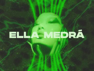 Branding Ella Medrá vector art logo illustration design branding
