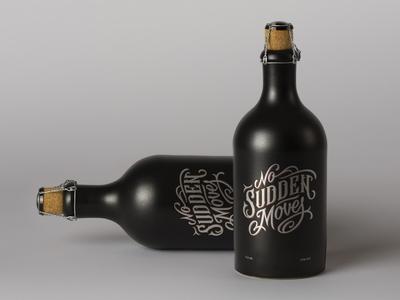 Bottle Label Vintage Typography