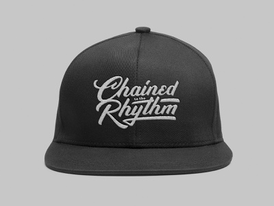 Chained to the Rhythm - Lettering Design apparel cap custom lettering type design hand writing hand drawn type lettering design handlettering typography