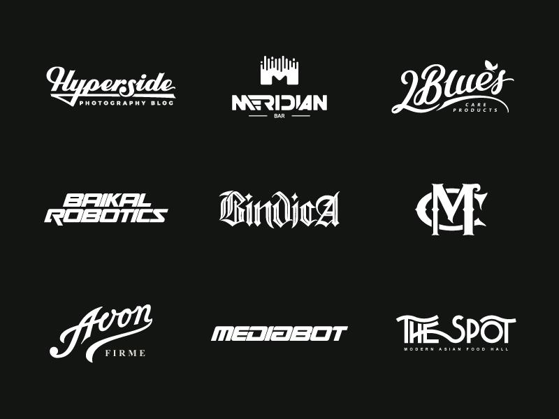 Lettering Logotypes logos logofolio handlettering typedesign type logodesign logotype logo lettering