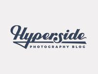 Hyperside Lettering Logo