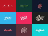 Lettering Logos & Prints