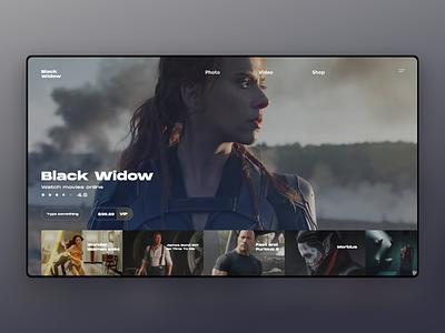 TV movie tv web ux ui tv shows tv series tv app design