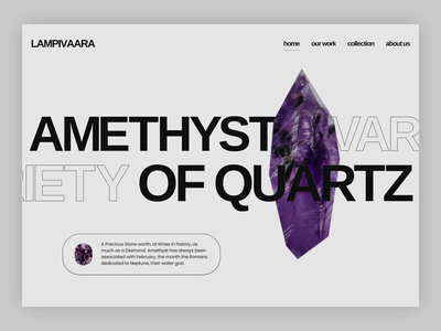 Amethyst crystal amethyst inspiration amethyst design crystal ui design crystal inspiration amethyst ui design crystal idea