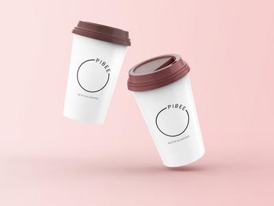 Pibee Coffeeshop Logo