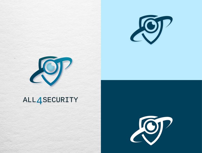 Security company logo logo design branding logo camera security illustrator logodesign logo design
