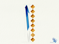 Alef letter Thuluth Style
