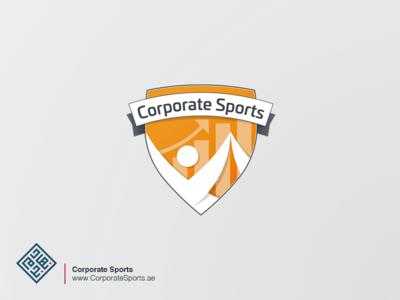 Corporate Sports approved logo design graphic design branding logo
