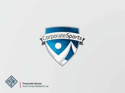 Corporate Sports option graphic deisgn branding logo