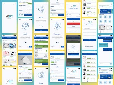 Japri Mobile App 3d graphic design design company ui