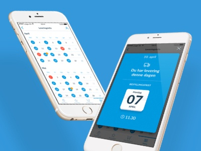 Delivery Schedule ux ui popup ios shopping calendar date schedule delivery