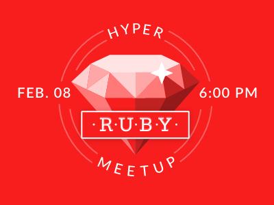 Ruby Meetup illustration meetup ruby