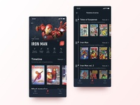Marvel Comic Book App