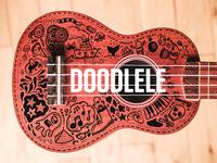 Ukulele + Doodle = Doodlele