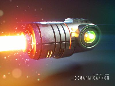 Arm Cannon 3D