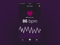 Heart rate app