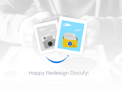 Docufy Happy redesign mobile pdf scanner material android ux ui