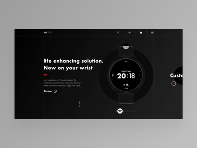 smart watch landing page applewatch smartwatch watch landing webdesign web design ux ui