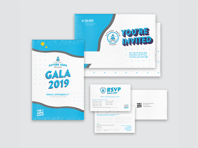 2019 Hope Center Gala Invitation