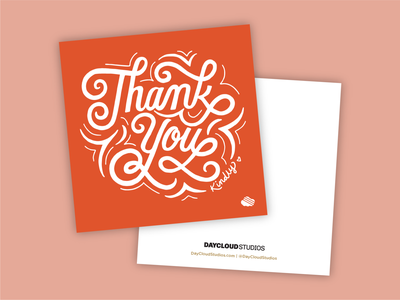 DCS Client Appreciation Card