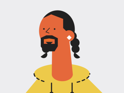 Snoop webdesign user experience ux app design ui branding mobile app illustration design music app music snoop dogg
