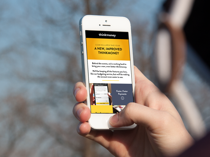 Coming later this year... landing page coming soon mobile only landing