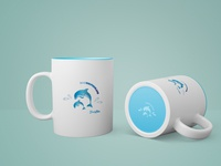 Cups dolphin -  Gadget