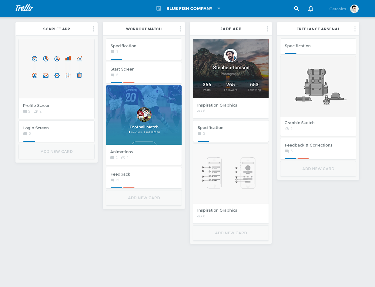 Trello redesign concept full