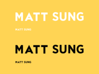 Logotype On Yellow