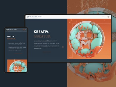 Blickfang Media: Webdesign ux ui web branding hero web design website