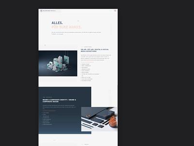 Blickfang Media: Webdesign brand identity ux ui branding webdesign website web
