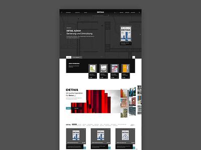 Detail: E-Commerce Design magazine buildings houses architechture ui uxui ux webdesign web website commerce ecommerce e-commerce