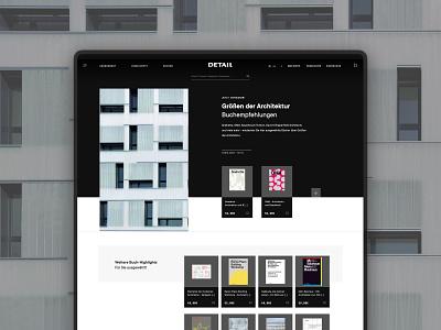 Detail: E-Commerce Design magazine buildings houses architecture uxui ui ux webdesign website web e-commerce ecommerce commerce