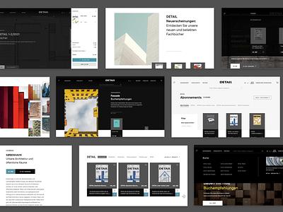 Detail: E-Commerce Design magazine buildings houses architecture ui uxui ux webdesign website web e-commerce commerce ecommerce