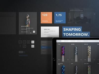 Hofmann & Vratny: Rebranding and webdesign mockup web ui ux design agency website branding