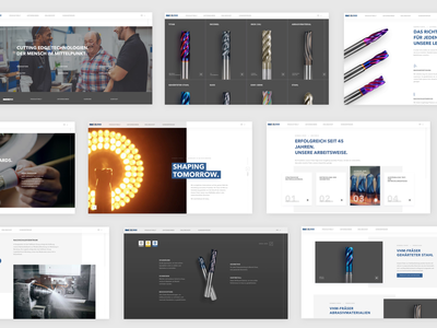 Hofmann & Vranty: Rebranding and webdesign animation ui ux web design agency website branding