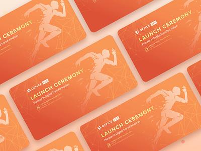 Brand - Lauch Ceremony web logo design branding